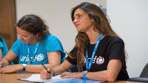 Sara Carbonero se emociona al convertirse en Embajadora de Unicef | Columna Cero