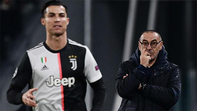 Sarri: Cristiano es un animal que se nutre del gol