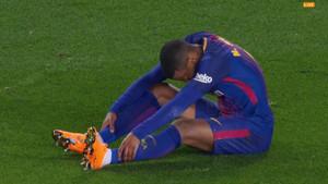Semedo se lesionó ante el Girona