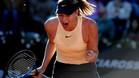 Sharapova empieza con buen pie en Roma