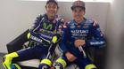 La sintonía de Rossi y Viñales tras el podio de Le Mans