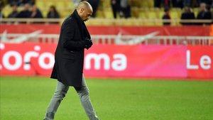 Thierry Henry tras caer ante el Estrasburgo