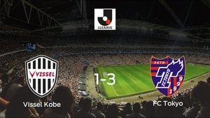 El FC Tokyo vence 1-3 en casa del Vissel Kobe