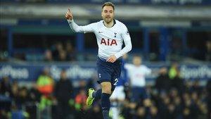El Tottenham quiere mantener a la estrella danesa