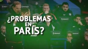 Tuchel y Mbappé, problemas en París