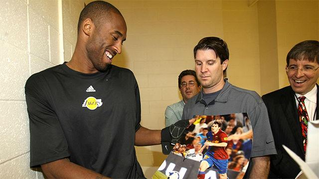 La última entrevista de Kobe Bryant hablando sobre el Barça