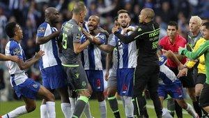La última jornada de la liga fue un Oporto-Sporting bastante picante