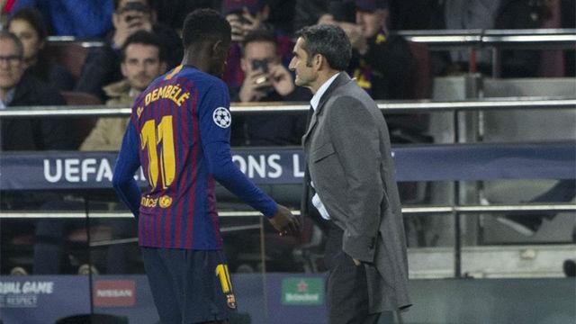 Valverde: ¿Dembélé, caso cerrado? No lo sé, tenemos entrenamiento mañana