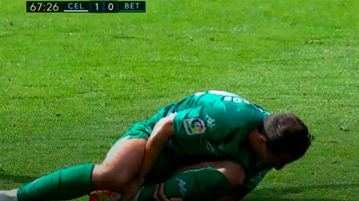El VAR rectifica al árbitro y anula un penalti claro al Betis