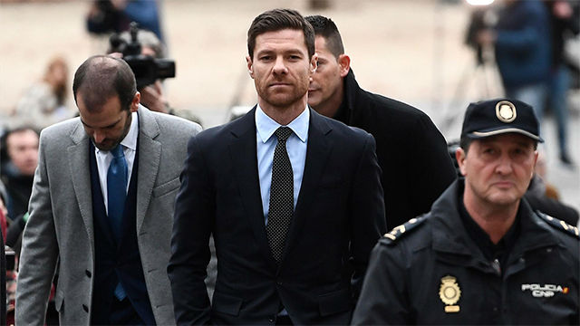 Xabi Alonso insiste en su inocencia tras declarar en el juicio