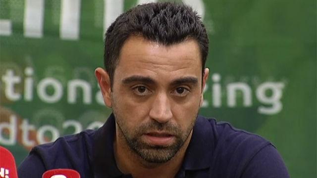 Xavi: Me parece una decisión acertada