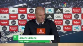 Zidane: Estoy muy decepcionado por mis jugadores