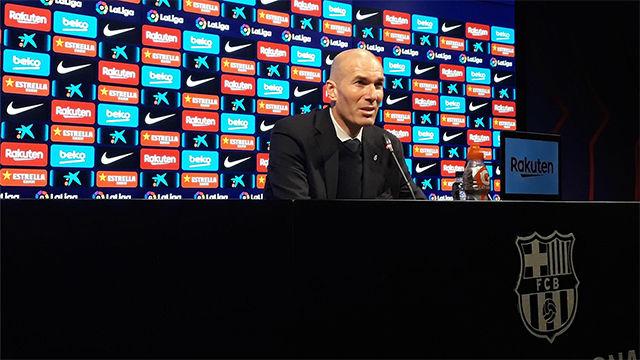 Zidane: Merecimos un poco más, pero nos ha faltado claridad