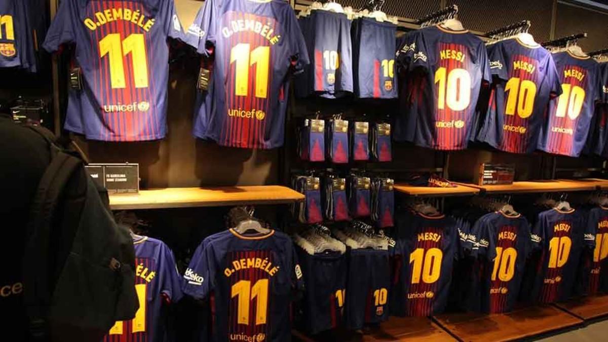 Nuevas ventajas para los socios en las tiendas del FC Barcelona 32b45bcf908