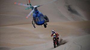 Toby Price, líder del Dakar a falta de dos etapas