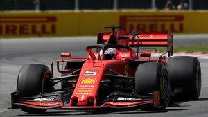 Vettel, en el último GP de Canadá