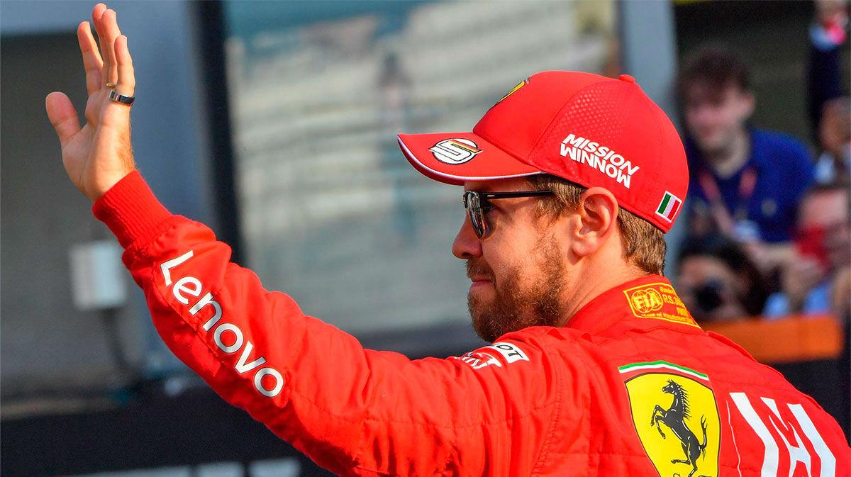 Ferrari: Fin de etapa de Vettel y opción Carlos Sainz