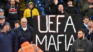 La afición del City, muy dura con la UEFA