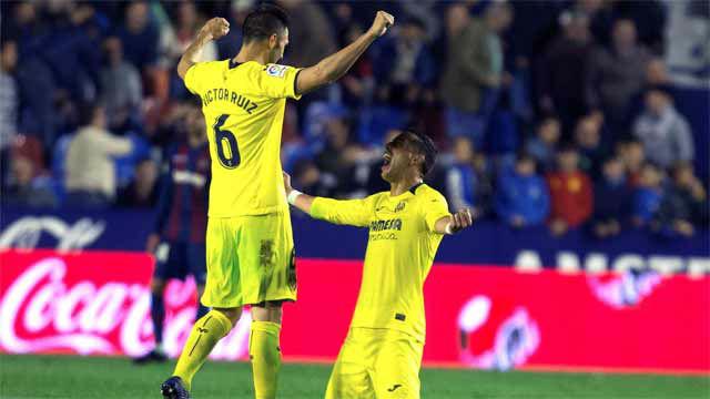 Agónica victoria del Villarreal ante el Levante
