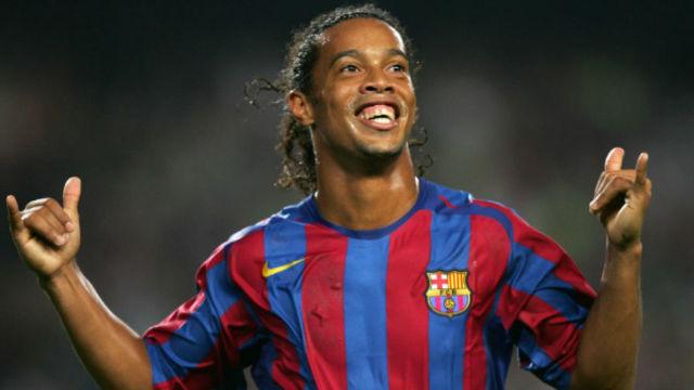 15 años de la primera obra de arte de Ronaldinho con el Barça