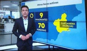 Antena 3 separa a personas de inmigrantes y desata la polémica en redes