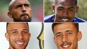 Arturo Vidal, Malcom, Arthur y Lenglet son los nuevos fichajes