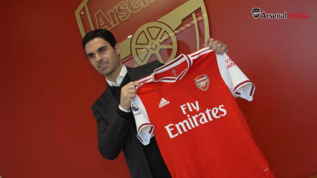 Así ha sido la presentación de Arteta con el Arsenal