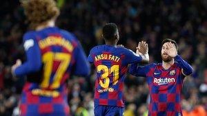 El Barça, al ataque