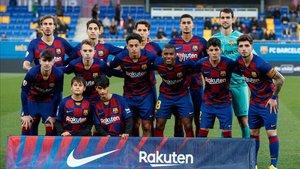 El Barça B se enfrentará al Valladolid Promesas en el Ciudad de Málaga