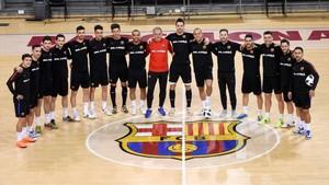 El Barça Lassa se conjura para alzar la UEFA Futsal Cup en Zaragoza