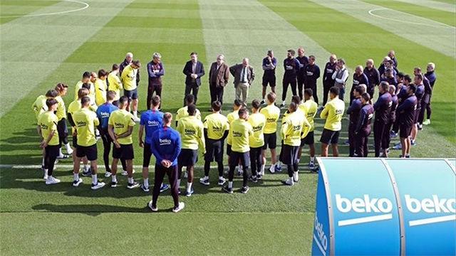 El Barça suspende toda actividad del primer equipo