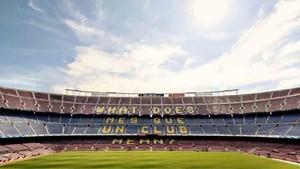 El Barcelona presenta la campaña Més que un club