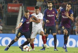 FC Barcelona, 4 - Sevilla CF, 2