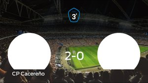 El Cacereño se lleva tres puntos tras vencer 2-0 al Cd Diocesano