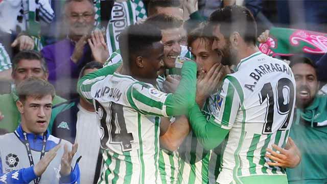 Canales aprovechó un penalti de Filipe Luis para dar la victoria al Betis