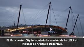 El City recurre al TAS la sancíón de la UEFA