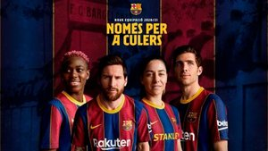 El club presentó en sociedad la nueva camiseta