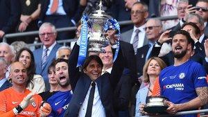Conte ganó una Premier con el Chelsea