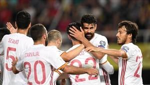 Costa marcó con España