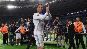 Cristiano Ronaldo dio la nota en Kiev tras ganar la Champions