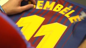 Dembélé lucirá el 11 en el FC Barcelona