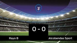 Empate entre Rayo B y Alcobendas Sport