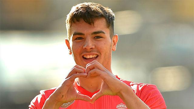 El espectacular gol de Brahim en Anoeta que no sirvió para nada