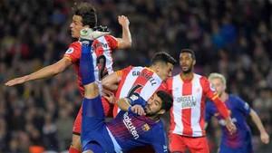 El Girona - Barcelona trae cola
