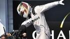 Hamilton, al más puro estilo Usain Bolt