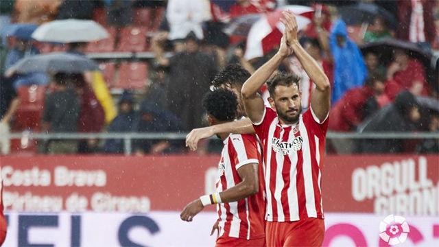 Un hat-trick de Stuani da los tres puntos al Girona
