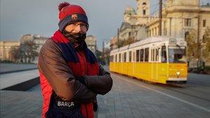Ivan Zaborszky, fundador de la única penya del Barça en Hungría