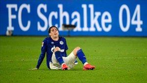 Juan Miranda ha jugado esta termporada en el Schalke 04