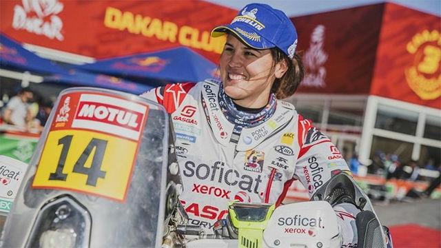 Laia Sanz, termina décimo en el Dakar: Si me lo dicen hace 10 años, no me creo