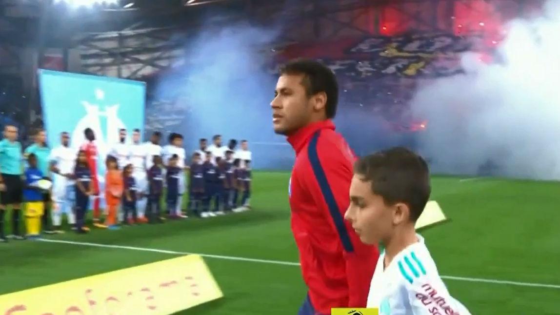 LALIGA FRANCIA | Neymar llegó tarde al Olympique-PSG